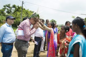 On 30th August, 2018 in Seraukella Block at Seraikella-Kharsawan District on day visit was organized by FNGO-YUVA (Youth Unity for Voluntary Action) on behalf by Jharkhand Tribal Development Society (JTDS) for the International Fund for Agricultural Development (IFAD) JRM team. (Pix: Uttam Acharjee)
